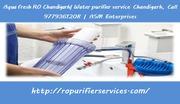 Aqua fresh RO Chandigarh| Water purifier service Chandigarh, 9779361208