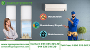 Get quality AC Service in Chennai at reasonable cost from SGroup
