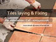 Tile Laying & Fixing Work Services Ernakulam Kerala