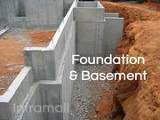 Foundation and basement works Ernakulam Kerala