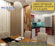 Interior Designs for 2BHK in Hyderabad