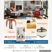 Bring lastest trend to your house- buy from furnishing store