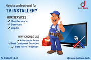 TV Installation | TV Mounting Installation Services - Just Care
