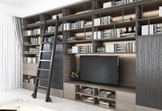 50+ Modern Home Library Designs